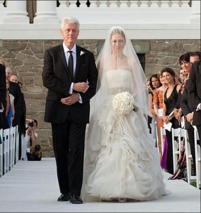 Chelsea Clinton Wedding Gown: Who's Vera Wang Is Best?