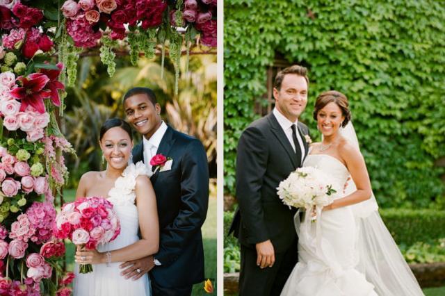 Tia Tamera Spouses Beautiful weddings