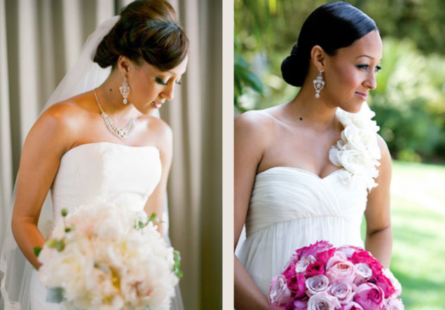 Twins Tia Tamera Beautiful weddings