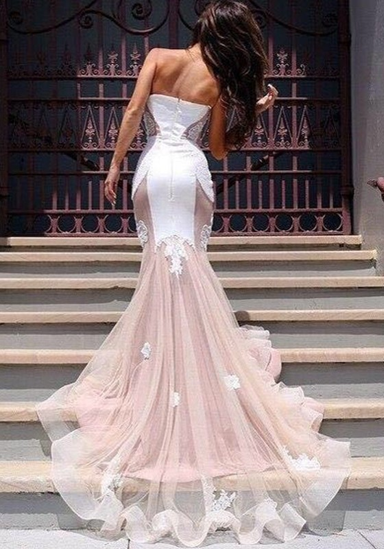 pink-patchwork-grenadine-appliques-v-neck-elegant-maxi-dress