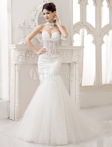 sexy-mermaid-ivory-lace-sweet-heart-detachable-wedding-gown-419515-2038047