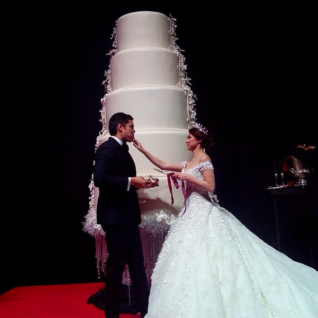 1dongyan wedding cake