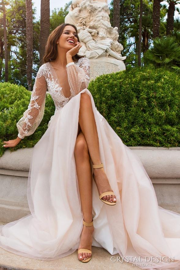 crystal-design-2017-bridal-long-sleeves-cuff-bishop-deep-v-neck-heavily-embellished-bodice-romantic-a-line-wedding-dress-sheer-back-chapel-train-alison-mv-